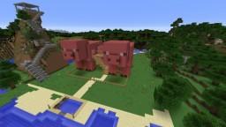 Maison Cochons 1.11.2 modé Minecraft Map & Project