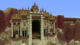 temple Minecraft Map & Project