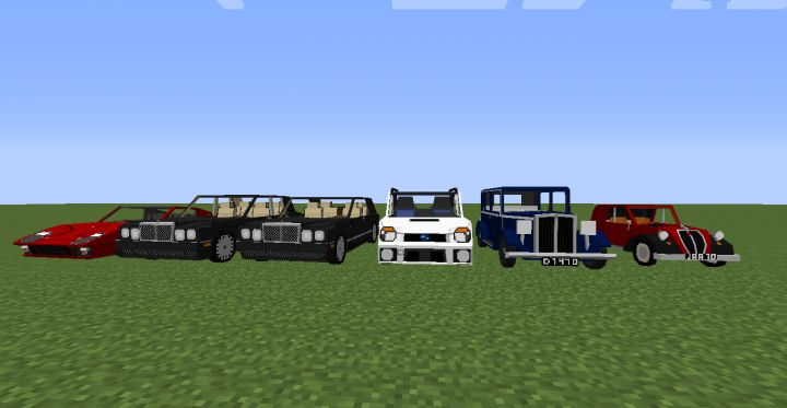 All new vehicles added in 2.1E1.1 update on 19th July 2018.