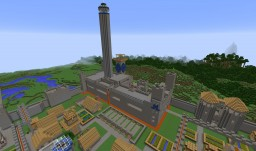 "RP-Stand Alone: ""Castellum Caerulei Bantzinis"" Minecraft Map & Project"