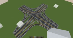 407 ETR / 400 Styled Interchange Minecraft Map & Project