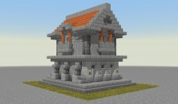 Small Stone/Acacia House Minecraft Map & Project