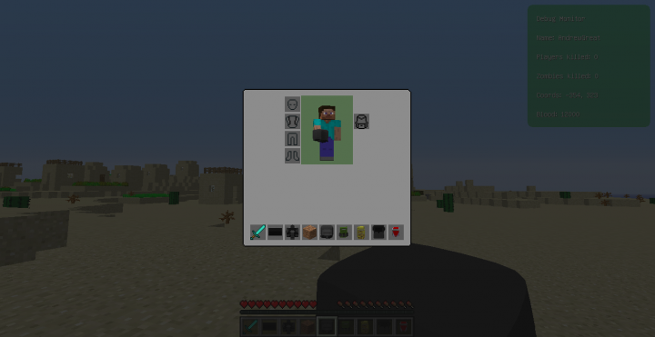 New Inventory Displays 3D items and more