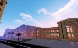 Gare Du Nord / Train Station of Paris Minecraft Map & Project