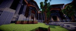 KingdomWars Spawn Built By (MissChikoo) Minecraft Map & Project