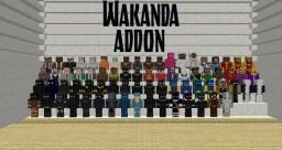 Wakanda Addonpack 7.0 Lucraft: Core Minecraft Mod