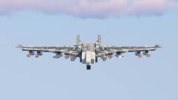 Spotra-5c Fictional Fighter Jet Minecraft
