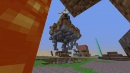 (Skycade Plot)Floating Island Windmill Minecraft Map & Project