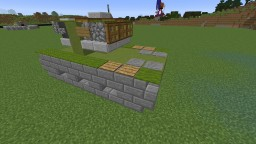 Ho-I (Japanese Tank) Minecraft Map & Project
