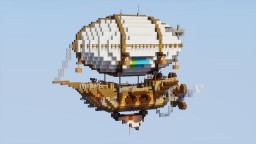 Medium Airship Minecraft Map & Project