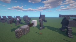 Stone Statues Minecraft Map & Project