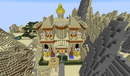 Town Hall of Petarum (RP Stand Alone), based on Petra Minecraft Map & Project