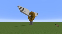 Old dutch railway logo statue. (+download/schematic) Minecraft Map & Project