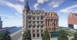 Ornamental corner building Minecraft