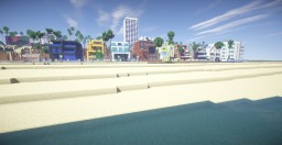 Minecraft - Los Angeles Map (Santa Monica) Minecraft Map & Project