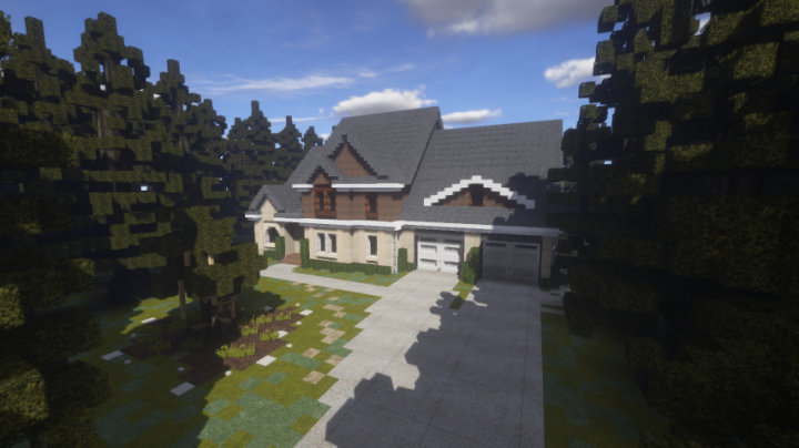 Popular Server Project : Traditional Style House