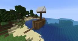 ZimShard's Pirate Ship of Destiny Minecraft Map & Project