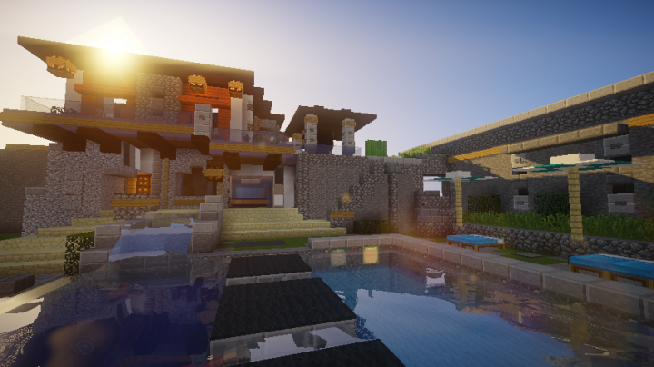 Popular Server Project : Epic modern house