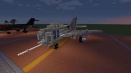 "MiG-19 ""Farmer"" (Remake) Minecraft"