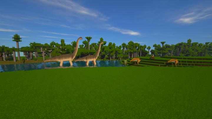 Brachiosaur Lake