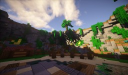 [Selling] Tropical Server Spawn (96x53) Minecraft Map & Project