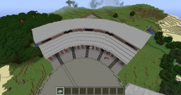 Engine Roundhouse for Immersive Railroading Minecraft Project