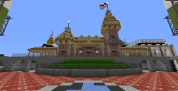 Custom Disneyland Minecraft Map & Project