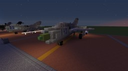 "MiG-21 ""Fishbed"" (Remake) Minecraft Map & Project"