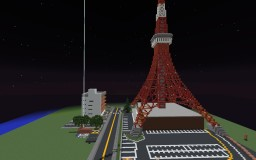 Tokyo, Japan Replica Minecraft Map & Project