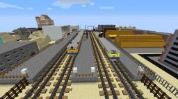 Latvian railway infrastructure Minecraft Map & Project