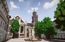 Dionysiusplatz, Krefeld, Germany Minecraft Map & Project