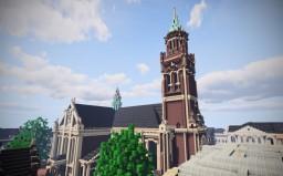 Stadpfarrkirche St. Dionysius, Krefeld, Germany Minecraft
