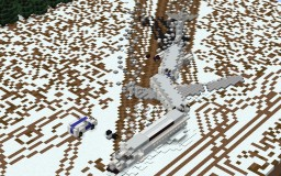 Scandinavian Airlines Flight 751 Minecraft