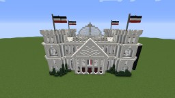 Minecraft Parliament Building (Inspired by the German Reichstag) Minecraft Map & Project