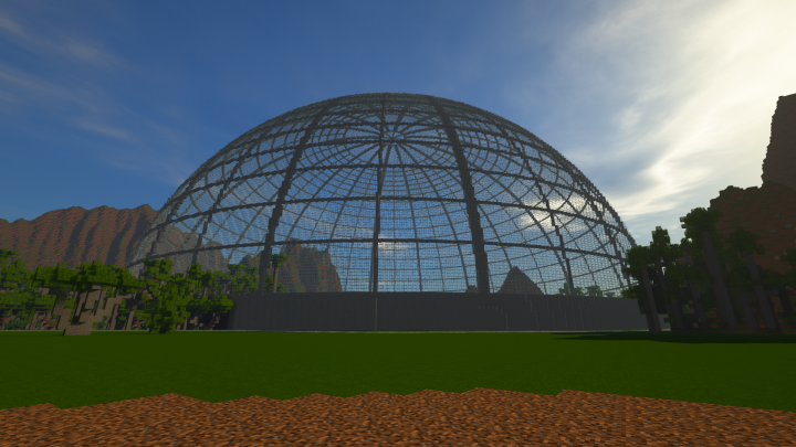 the Aviary Will not be open to the public until JurassiCraft adds Pterosaurs