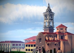 Chiesa di San Ferdinando, Livorno, Italy Minecraft Map & Project