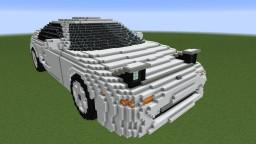 Toyota MR2 (SW20) Minecraft Map & Project