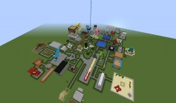 Triple Zee's Creative World! Minecraft Map & Project