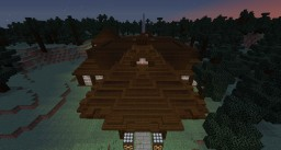 epic wood mansion Minecraft Map & Project