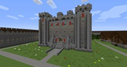 Medieval Fortress Minecraft Map & Project