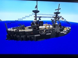 ijn fuso ironclad Minecraft Map & Project