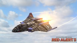 F-11X Apollo Fighter | C&C Red Alert 3 Minecraft Map & Project