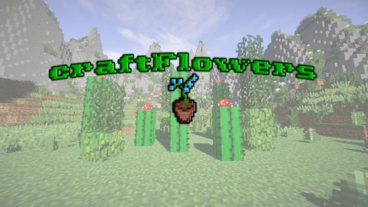 Popular Mod : [Spigot] craftFlowers - Easy create custom flowers.