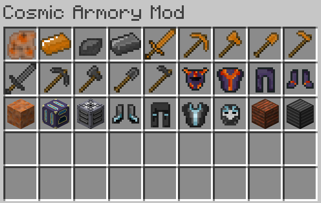 Most Items in mod