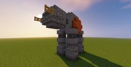 Star Wars AT-ACT Minecraft Map & Project
