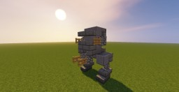 Star Wars AT-ST FO Minecraft Map & Project