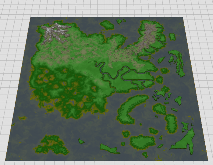 Popular Server Project : Naruto Realms RPG Map