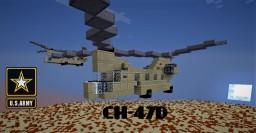 Boeing CH-47 Chinook Minecraft