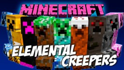 [1.12.2] Faithful for Elemental Creepers Mod Minecraft Texture Pack