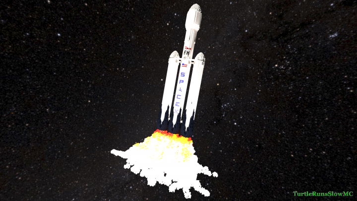 Popular Project : SpaceX Falcon Heavy